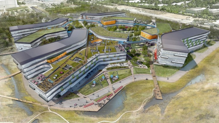 Google BayView 730x410 Google reveals plans for 1.1M square foot Bay View campus near San Francisco Bay [Updated]