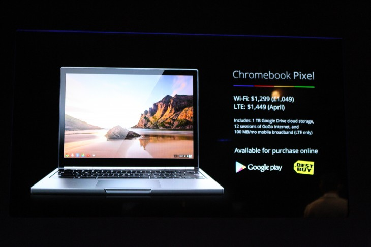 IMG 7387 730x486 Google unveils 12.85 touch screen Chromebook Pixel with a 2560x1700 display, starting today at $1,299