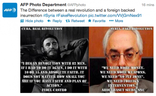 MbFkFjy 520x321 AFPs now suspended photo Twitter account was hacked and used to blast the Syrian revolution, Obama