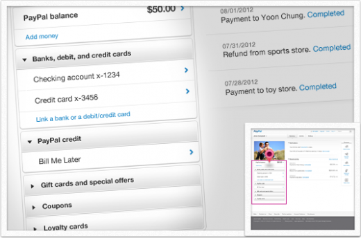 PPTour money 94 520x344 PayPal teases long overdue redesign: Featuring a significantly cleaner look, improved notifications