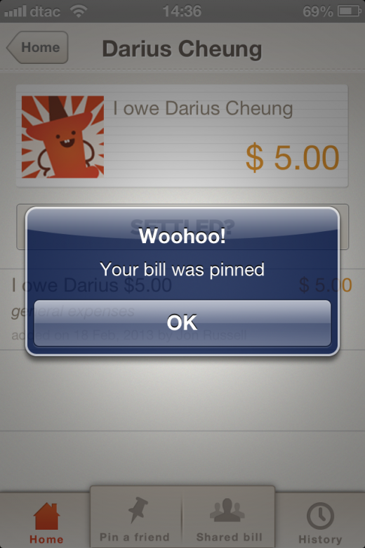 Photo 2013 02 20 02.02.38 PM 520x780 BillPin is a handy app to split bills between friends and keep track of who owes what