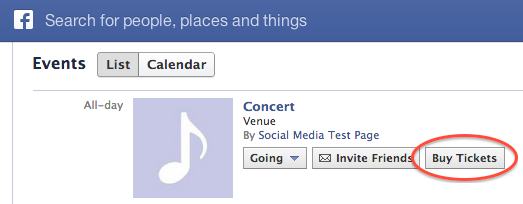 Screen Shot 2013 02 11 at 8.27.22 AM1 Facebook is testing Buy Tickets links for events, but will it get into the ticketing business? [Updated]