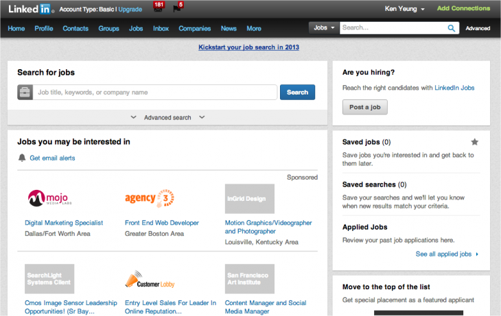 Snap 2013 02 15 at 10.28.47 730x461 LinkedIn overhauls its jobs service with a fresh design and better discovery features