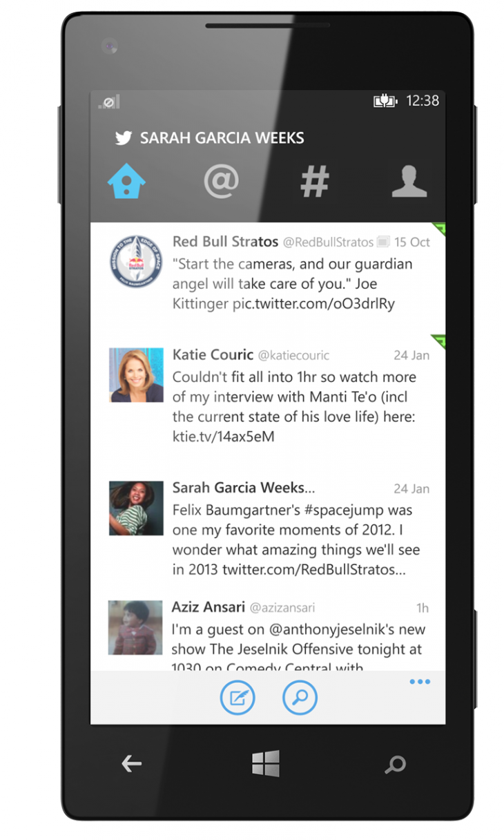 Twitter for WP 1 730x1216 Twitter for Windows Phone finally gets new design that matches other apps, Live Tile support and more