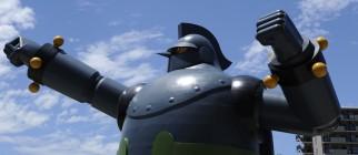 A 15.3 metre-tall 'Tetsujin 28-go', or '