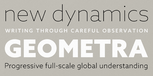 azo sans 40 Of the most beautiful typeface designs released this January