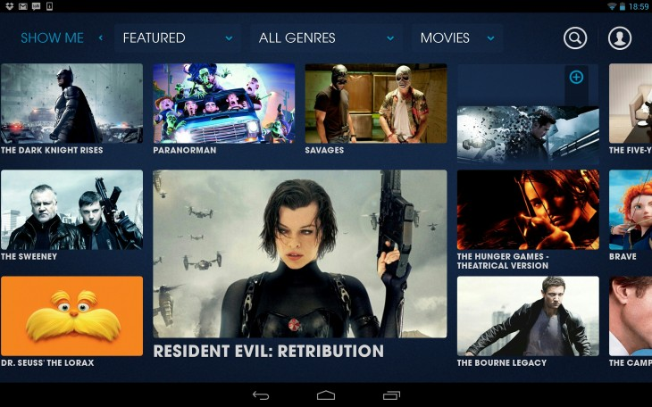 Blinkbox brings its UK video on demand service to Android tablets. We go hands on