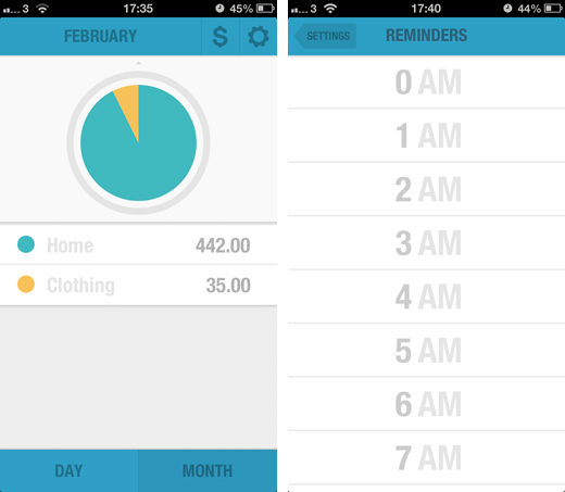 budgt2 BUDGT is a stunning iPhone app to help you manage expenses and stick to a monthly budget