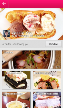 c 220x375 Foodies photo sharing service Burpple finally lands on Android