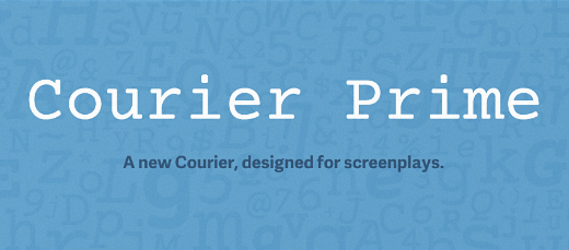 courier prime 40 Of the most beautiful typeface designs released this January