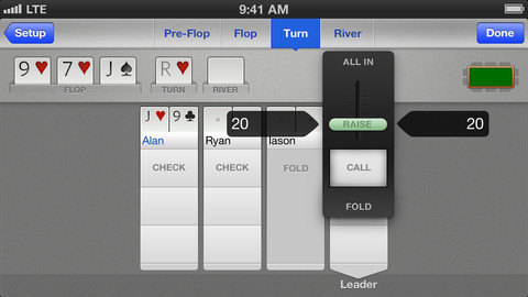 e1 Poker Postgame: A note taking app to help improve your poker game and learn from your mistakes