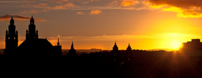 glasgow skyline baaker2009 flickr