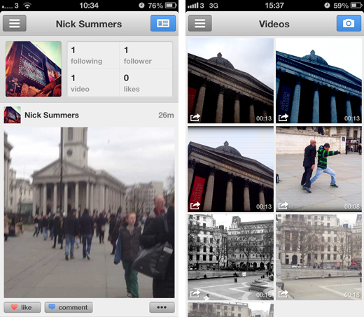lumascreens1 Luma updates its video camera app for iOS, adding cinematic image stabilization and artistic filters