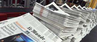 FRANCE-MEDIAS-PRESS-LE MONDE