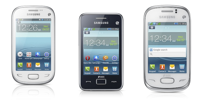 rex series Like Nokias Asha, Samsungs Rex smart feature phones will bring the Web to emerging markets