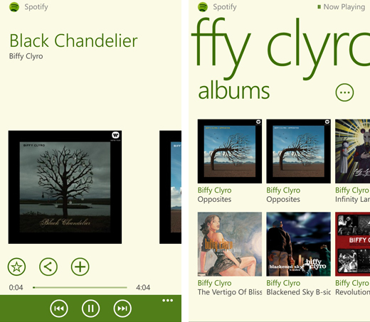 spotifywp82 Spotify for Windows Phone 8 comes out of beta, finally brings track scrubbing