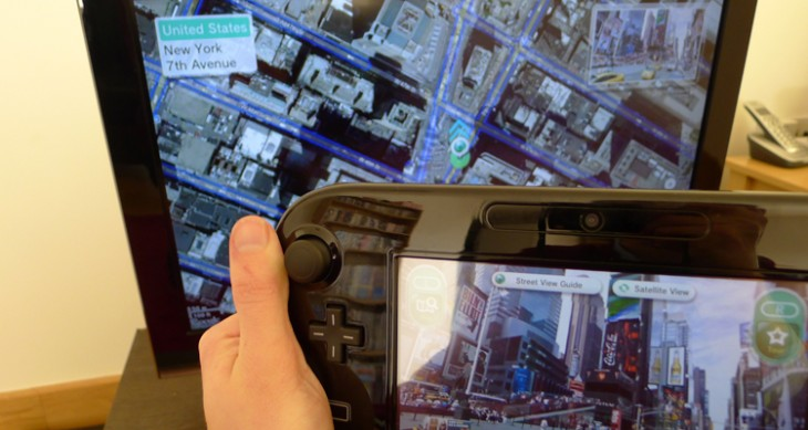 streetview1 730x389 Google Maps with Street View is available to download now through the Nintendo Wii U eShop