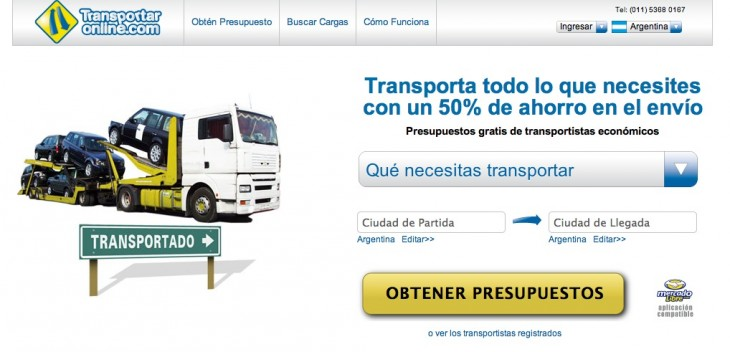 transportaronline home