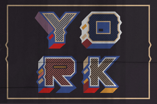 york 40 Of the most beautiful typeface designs released this January