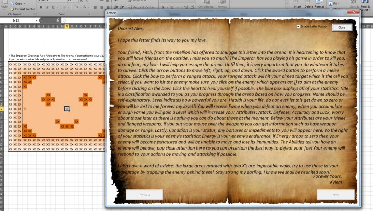 2013 03 25 13h13 00 730x412 This epic accountant turned your dull Excel spreadsheet into an awesome RPG