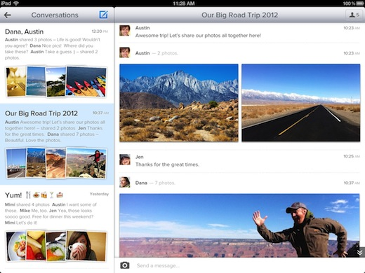 4 convo ipad Here are 600 million reasons to replace the Photos app on your iPad with Cooliris