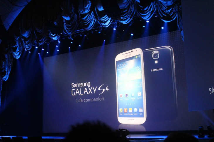 IMG 1061 730x486 Samsung Galaxy S 4 announced: 5 441 ppi screen, 13 mp camera, Android 4.2, 4G LTE, available April