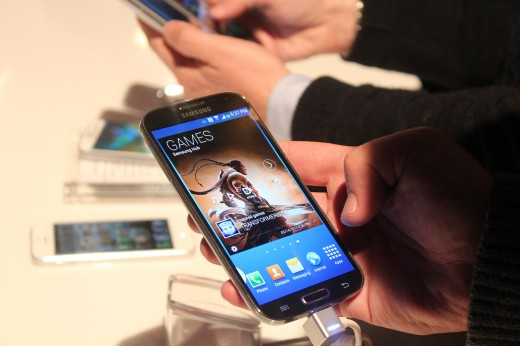 IMG 1093 520x346 Hands on with the newly announced Samsung Galaxy S 4 [Video]