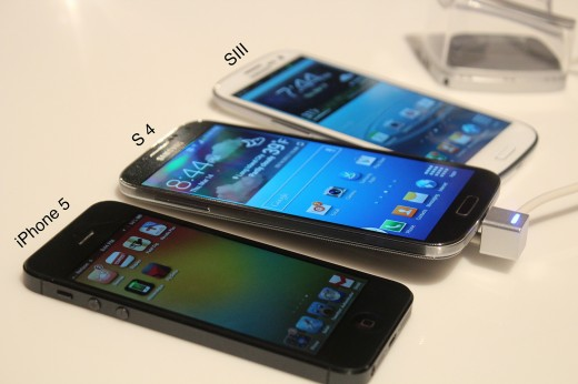 IMG 1149 520x346 Hands on with the newly announced Samsung Galaxy S 4 [Video]