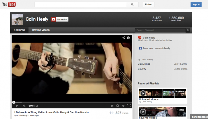 IslRcMk 730x416 YouTube rolls out redesigned One Channel layout to all users