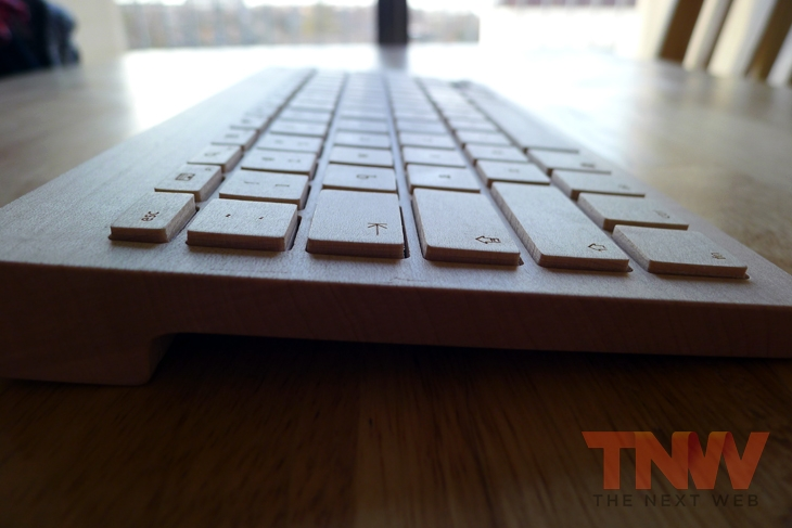 Oree2wtmk Orée Board review: A handcrafted wooden keyboard that is beautiful to look at, but impractical to use