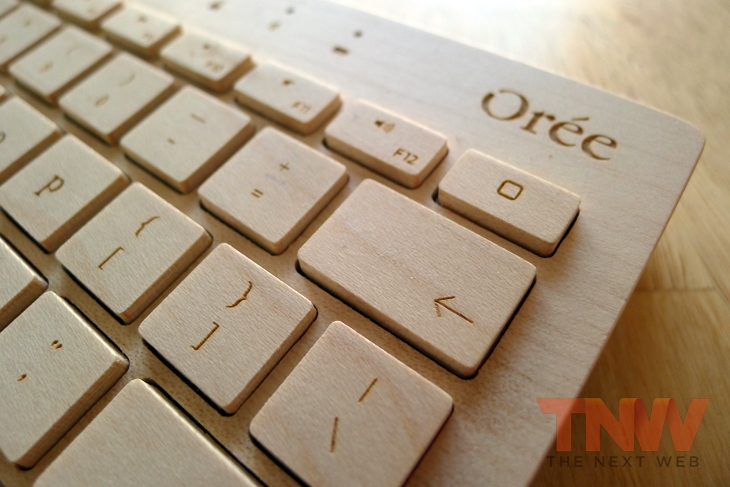 Oree5wtmk Orée Board review: A handcrafted wooden keyboard that is beautiful to look at, but impractical to use