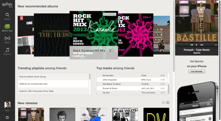 Spotifycrop 730x402 Spotify opens its beta browser based app to users in the UK ahead of full launch later this year