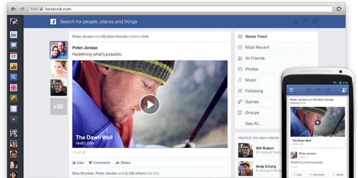 Zow4kBU 730x364 Facebook introduces new News Feed with larger images, choice of feeds and consistent mobile design