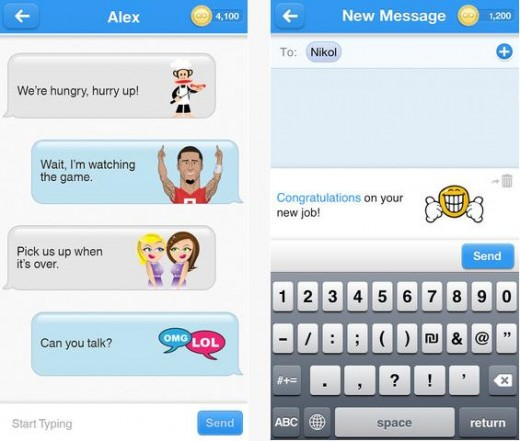 a1 520x441 The lingo of Lango: Zlango relaunches and renames its emoticon based mobile messaging app