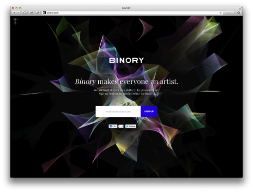 binory 520x396 Issue v1.3   Startups to follow