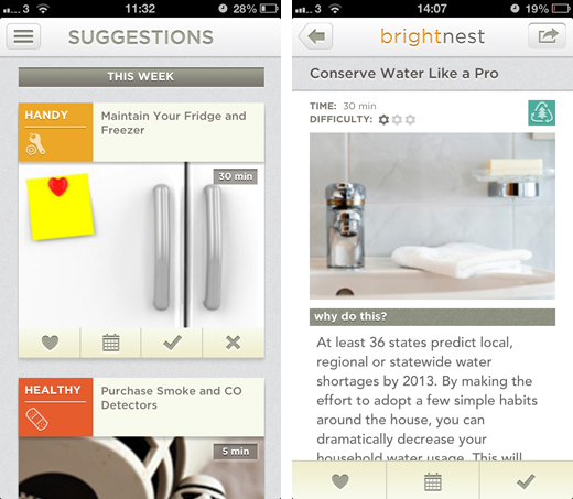 brightnestscreens1 BrightNest for iOS gives you inspiration, tips and advice on home improvements