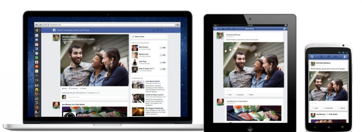 devices 1 730x266 Facebooks redesigned News Feed features specialized feeds: All Friends, Music, Photos and Following
