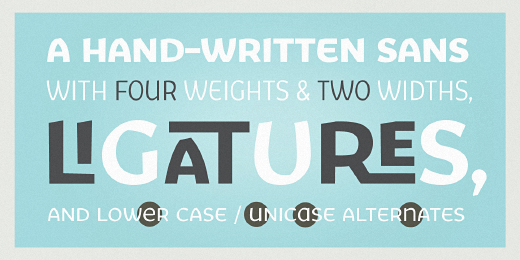 fair sans 32 Of the most beautiful typeface designs released last month