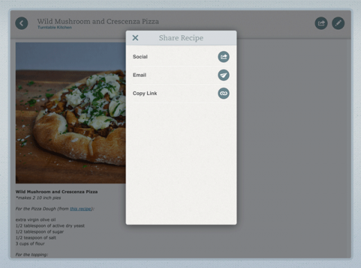 food share 520x387 Evernote Food for iOS updated with restaurant reservations, recipe sharing and notebook syncing