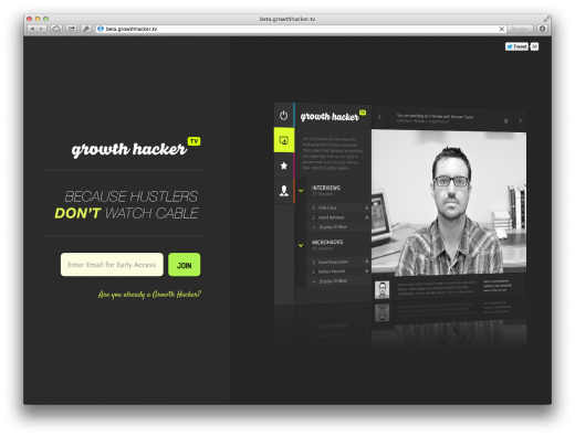 growthhackertv 520x396 Issue v1.3   Startups to follow
