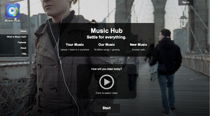 musichub 730x404 Open music platform firm 7digital to power the Music Hub app on Samsungs Galaxy S4