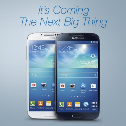 next big thing 520x520 As Samsung launches the Galaxy S4, rivals jostle to shoot down the worlds top phone maker