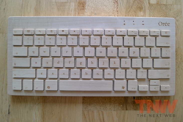 oree1wtmk Orée Board review: A handcrafted wooden keyboard that is beautiful to look at, but impractical to use