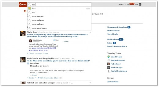 quorasearch 520x286 Quora finally introduces full text search to boost content discovery