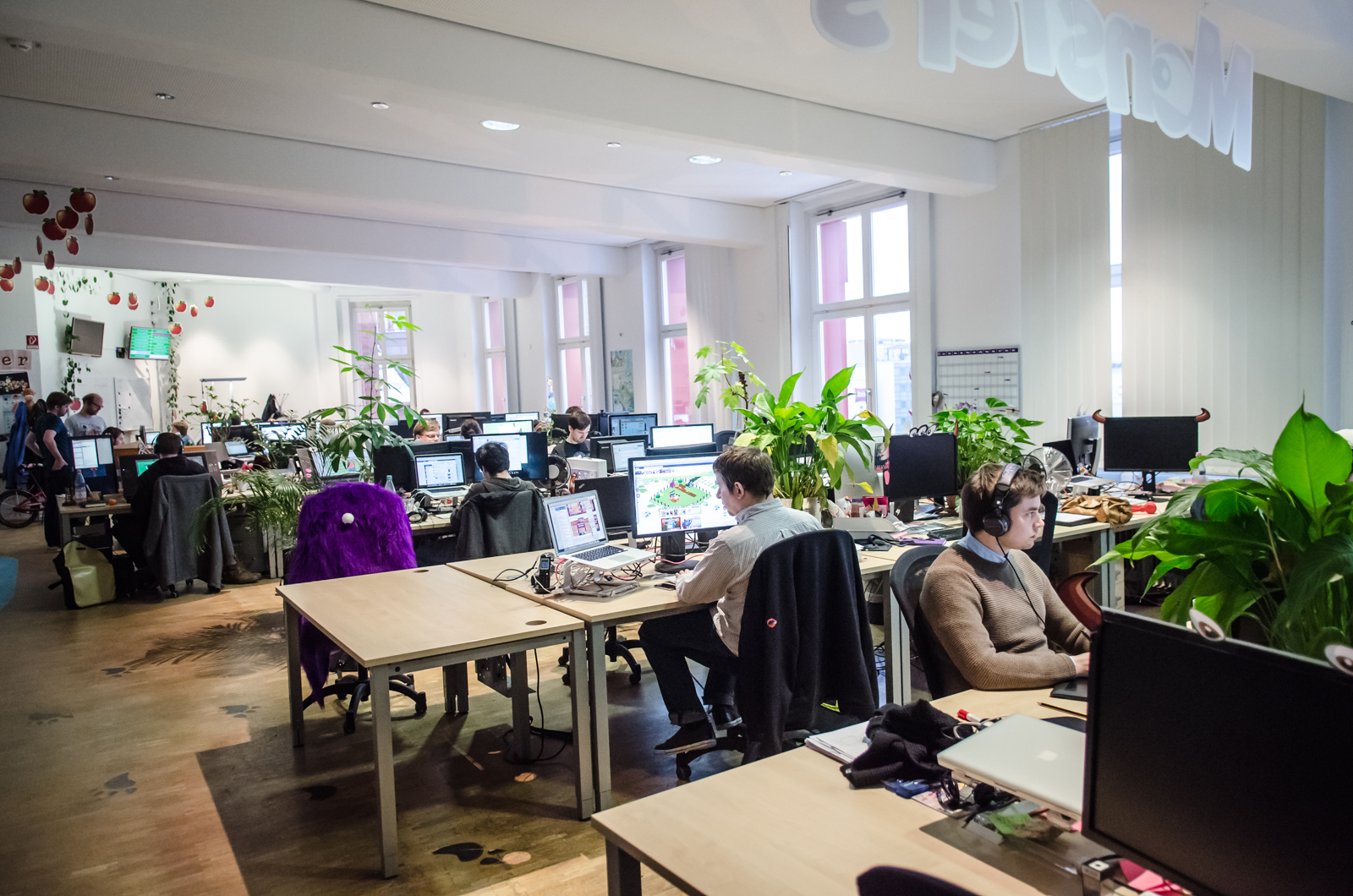 Why social gaming giant wooga is renting 20 flats in berlin for Office design companies
