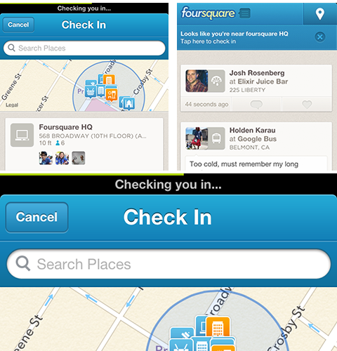 speedy checkin 1 Foursquare for iPhone now lets power users check in significantly faster [Updated]