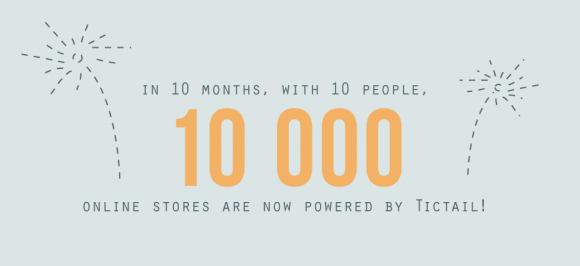 tic Swedens Tictail is now powering 10,000 online stores, after only 10 months