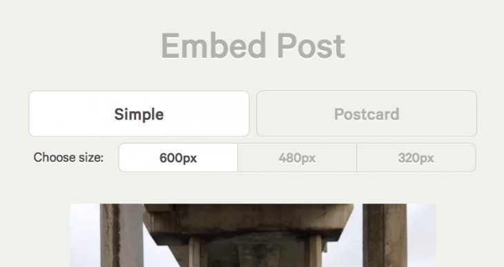 vinecrop2 730x387 Vine launches Web embeds, updates iOS app to share others videos via Twitter and Facebook