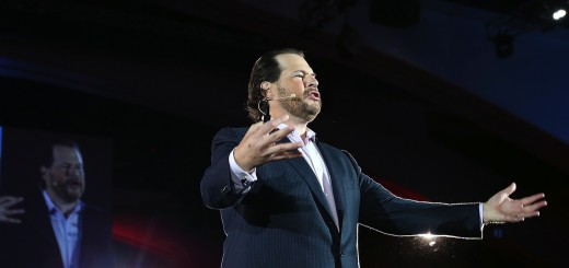 Salesforce CEO Marc Benioff Keynotes Dreamforce Cloud Computing Event