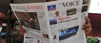 MYANMAR-POLITICS-MEDIA
